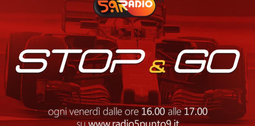 """<span class=""""entry-title-primary"""">""""Stop&Go"""" live venerdì 9 marzo alle ore 16.00 su Radio 5.9</span> <span class=""""entry-subtitle"""">La trasmissione di Passione a 300 all'ora in diretta fino alle 17</span>"""