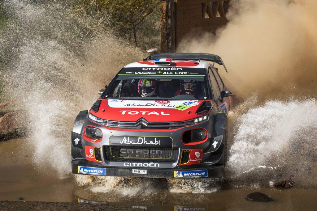 WRC | Messico: Sordo leader alla fine della prima tappa, ma Loeb è vicino
