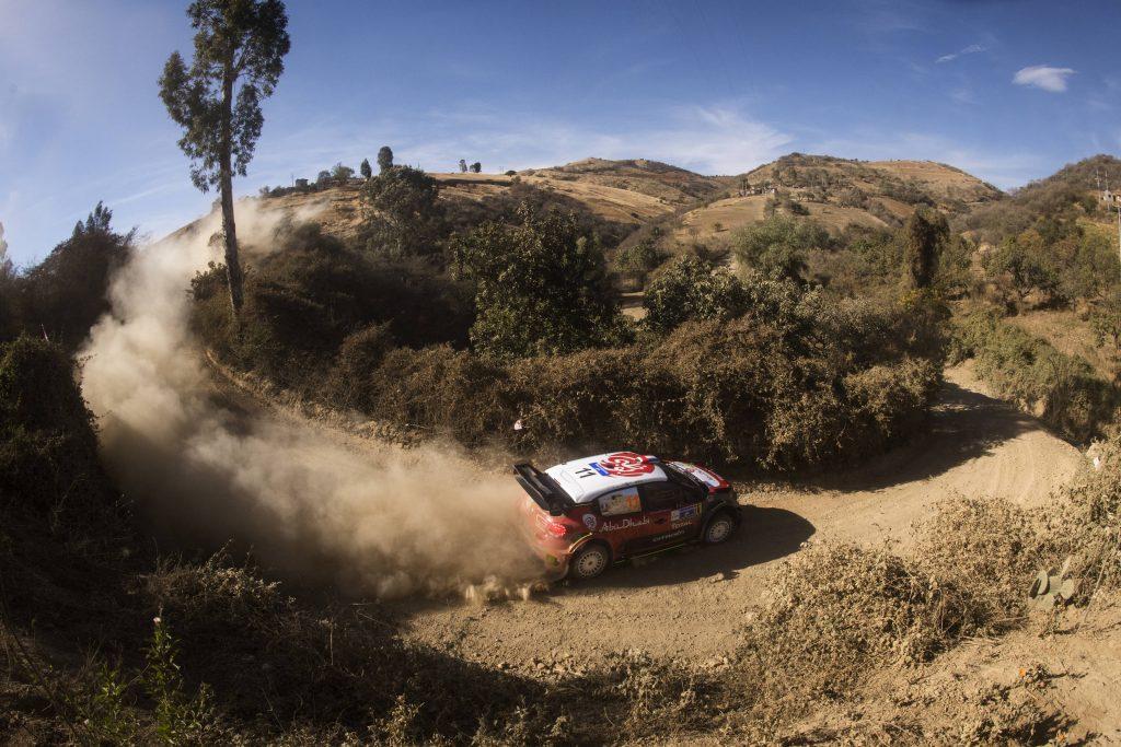 WRC   Messico: Loeb al comando, ritiro per Tänak