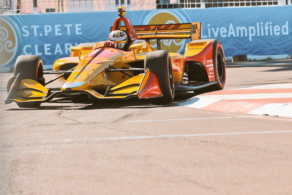Indycar | Hunter-Reay il più veloce nelle libere del venerdì