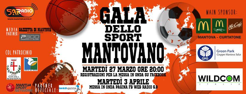 P300 Media Partner del Galà dello Sport Mantovano