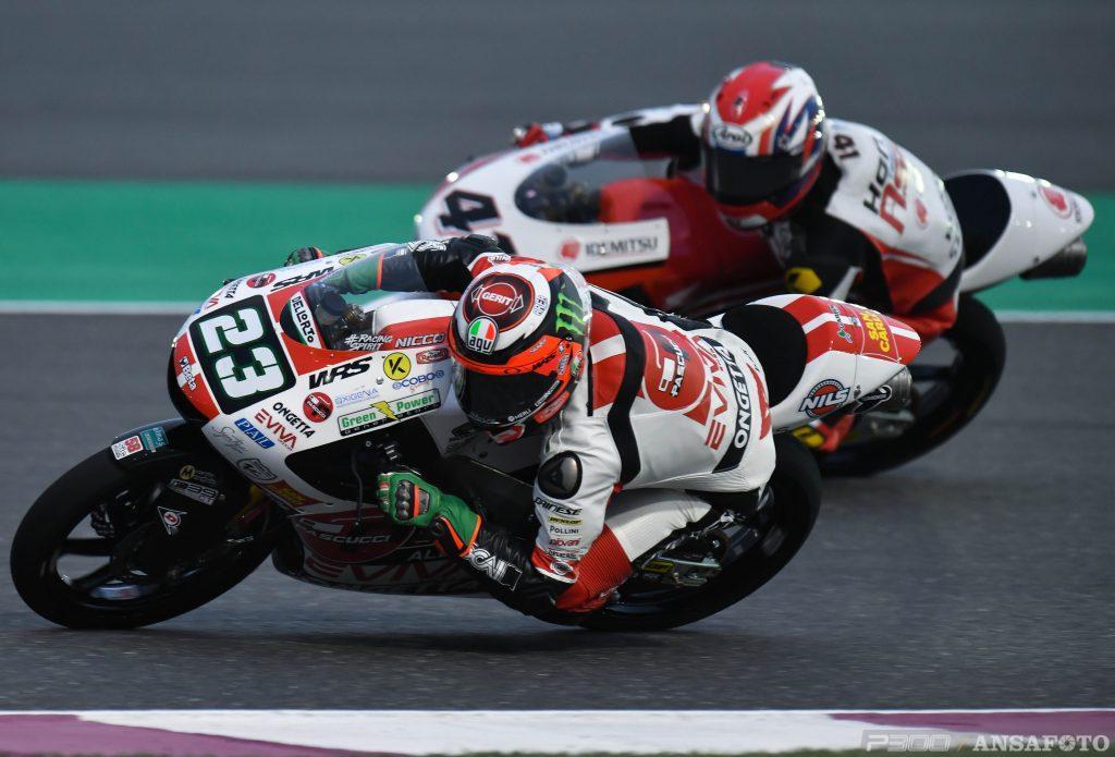 Moto3 | GP Qatar: Antonelli in pole per un millesimo!