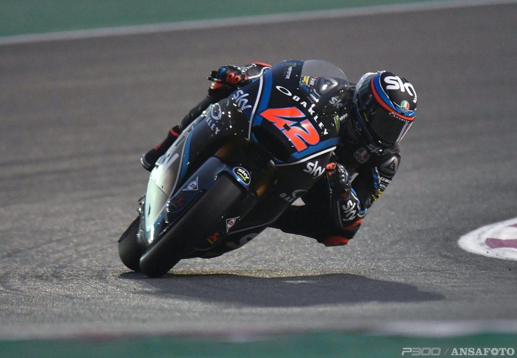 Moto2 | GP Qatar: Pecco Bagnaia vince la sua prima gara in Moto2