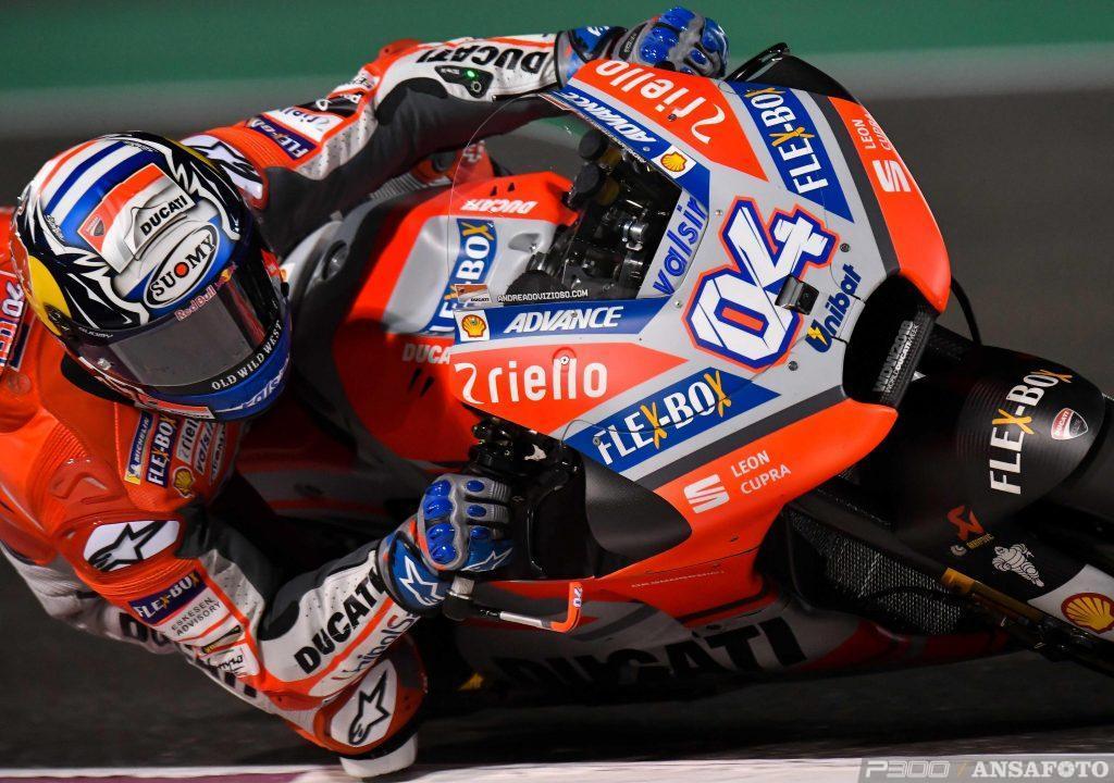 MotoGP   GP Qatar: Dovizioso vince per la prima volta a Doha
