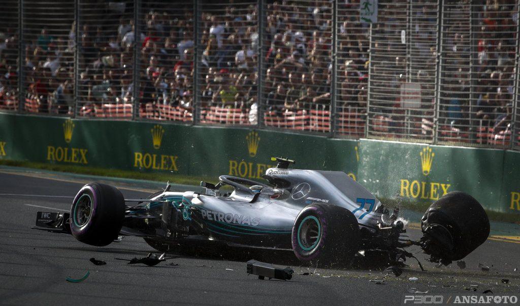 F1 | GP Australia: Bottas sostituisce il cambio, 5 posizioni di penalità