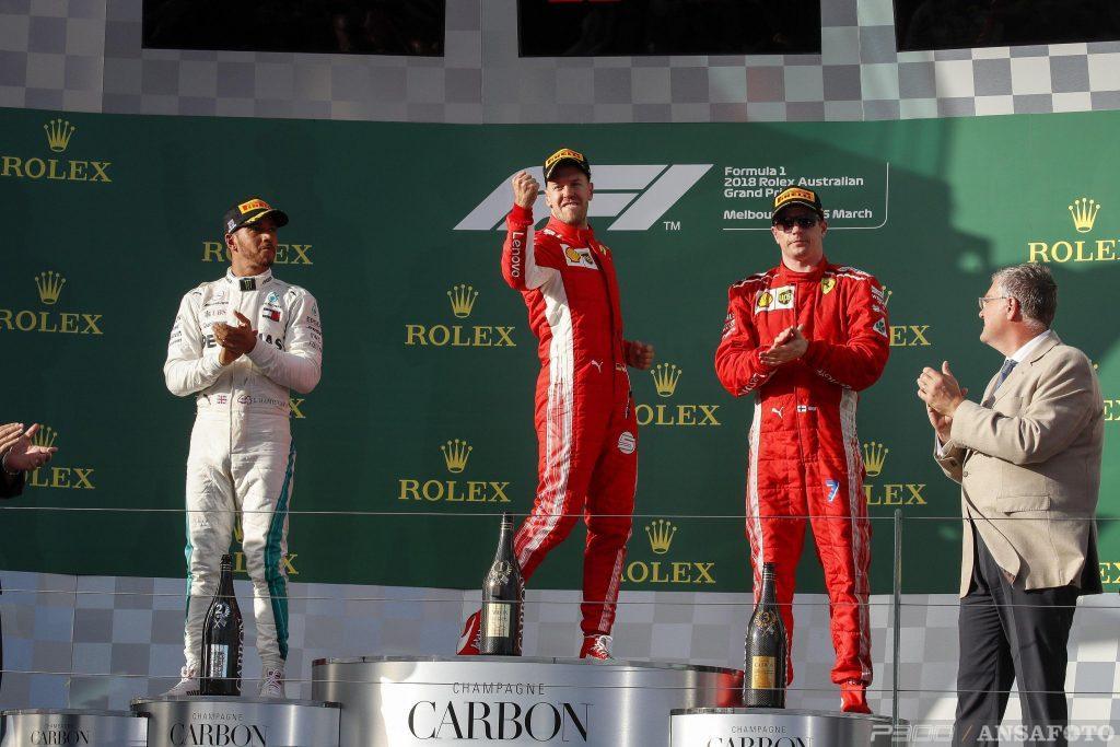 F1 | GP d'Australia 2018, la gara dei primi dieci