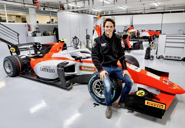 F2   MP Motorsport ingaggia Ralph Boschung