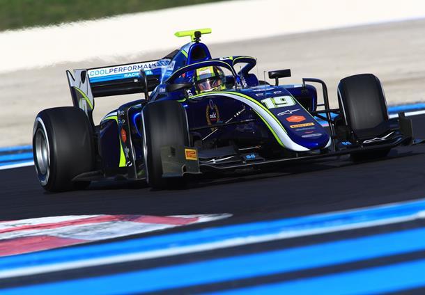 F2   Norris domina la prima giornata di test a Le Castellet