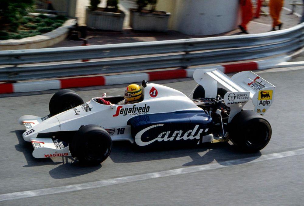 F1 | All'asta la Toleman usata da Ayrton Senna a Monaco '84