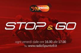 """""""Stop&Go"""" live venerdì 20 aprile alle ore 16.00 su Radio 5.9"""