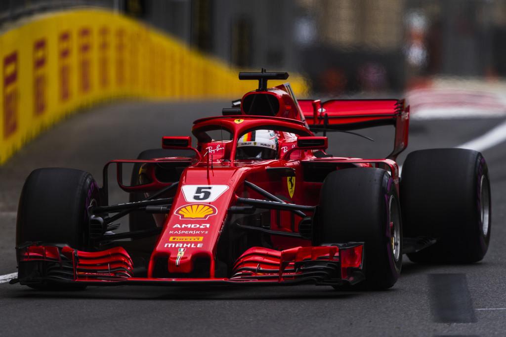 F1   GP Azerbaijan: Sebastian Vettel in pole su Hamilton e Bottas. 6° Raikkonen