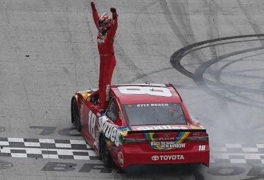NASCAR | Kyle Busch vince a Bristol ed è in testa al campionato!