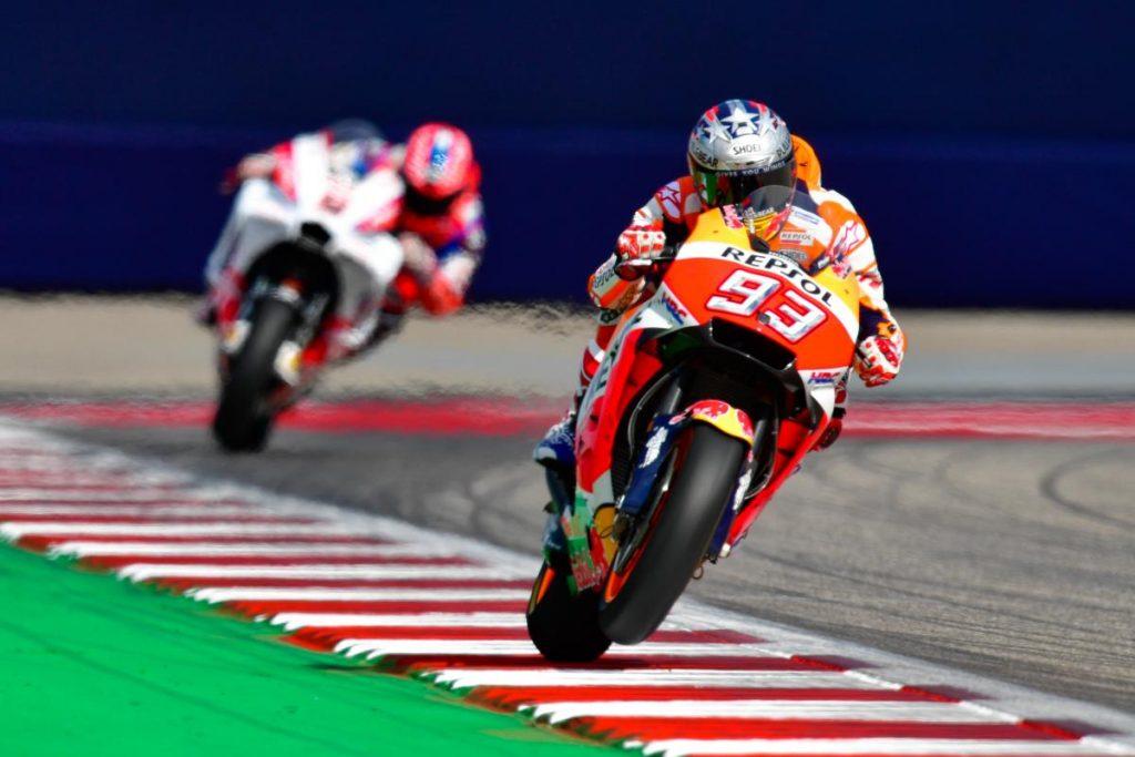 MotoGP | GP Americas: Márquez ingrana la sesta in Texas