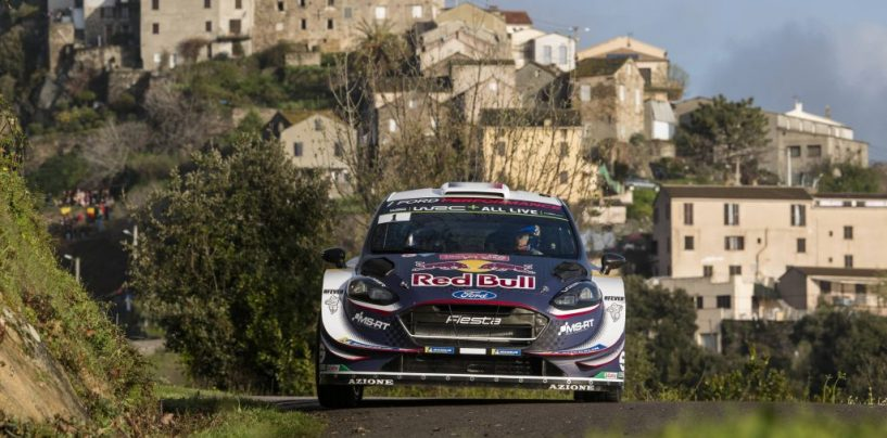 """<span class=""""entry-title-primary"""">WRC   Corsica: assolo di Ogier nella prima tappa, Loeb già fuori</span> <span class=""""entry-subtitle"""">Il campione del mondo mette 33"""" tra sé e Neuville, Loeb out nella PS2</span>"""