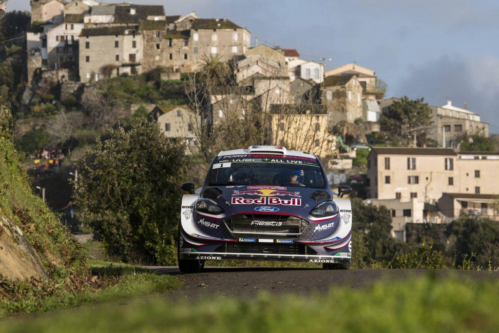 WRC   Corsica: assolo di Ogier nella prima tappa, Loeb già fuori