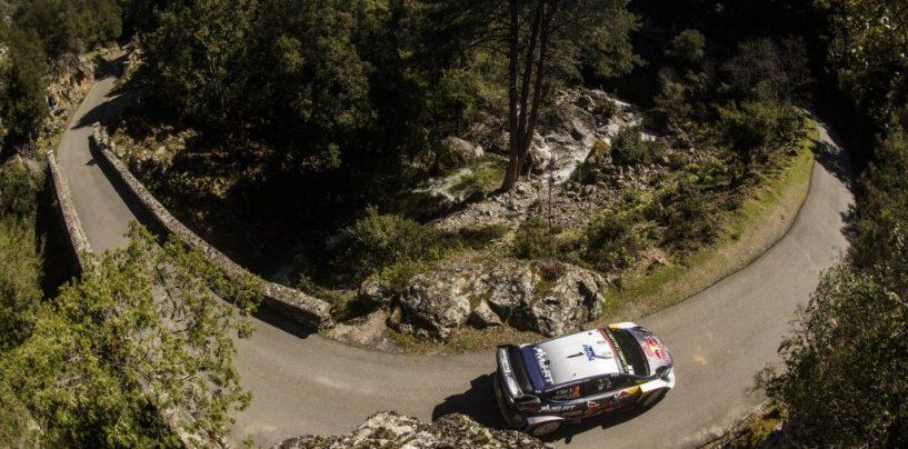 """<span class=""""entry-title-primary"""">WRC   Corsica: Ogier controlla, la lotta per la seconda posizione si infiamma</span> <span class=""""entry-subtitle"""">Neuville, Meeke e Tänak chiusi in pochi secondi. Due PS vinte per Loeb</span>"""