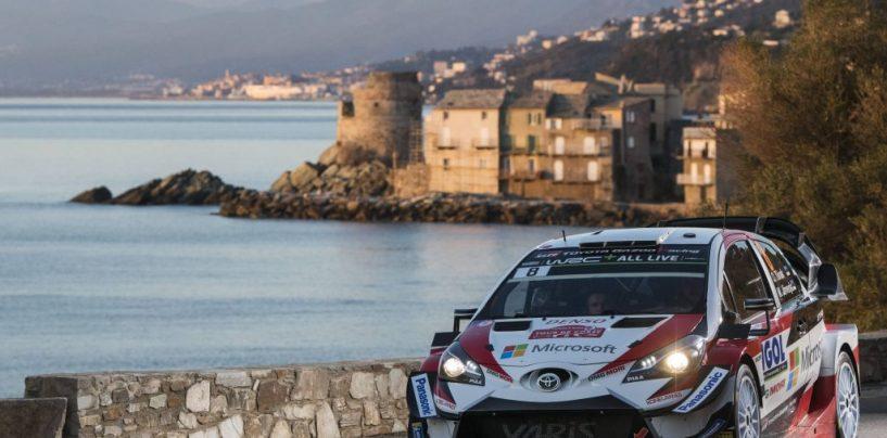 """<span class=""""entry-title-primary"""">WRC   Corsica: Tänak guadagna la seconda posizione, Meeke out</span> <span class=""""entry-subtitle"""">Ogier leader indisturbato, Neuville cede il passo all'estone</span>"""