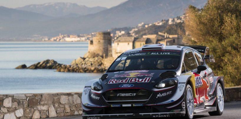 """<span class=""""entry-title-primary"""">WRC   Corsica: Sébastien Ogier mette la terza e allunga in classifica</span> <span class=""""entry-subtitle"""">Un problema al motore non impedisce a Neuville di chiudere terzo</span>"""
