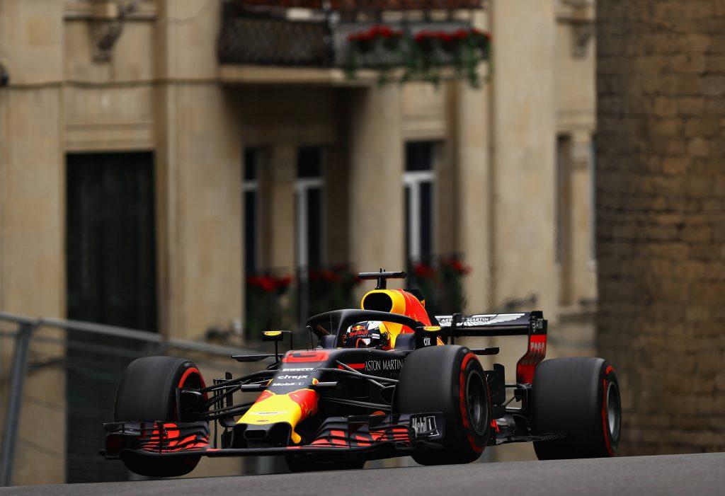 F1 | GP Azerbaijan FP2: Ricciardo in testa su Raikkonen e su Verstappen