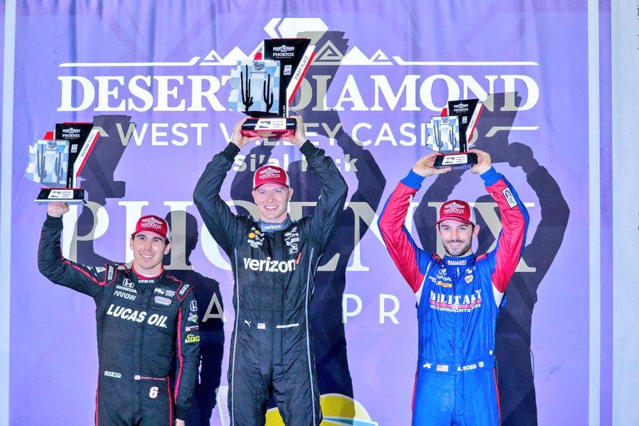 Indycar   Phoenix GP: Newgarden vince davanti a Wickens e Rossi