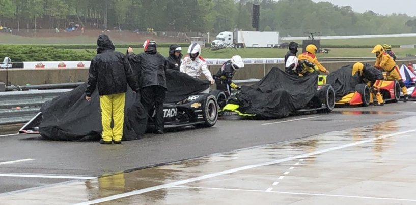 """<span class=""""entry-title-primary"""">Indycar   GP Alabama: Gara sospesa per pioggia</span> <span class=""""entry-subtitle"""">Si ripartirà domani alle 18 italiane con Newgarden al comando</span>"""