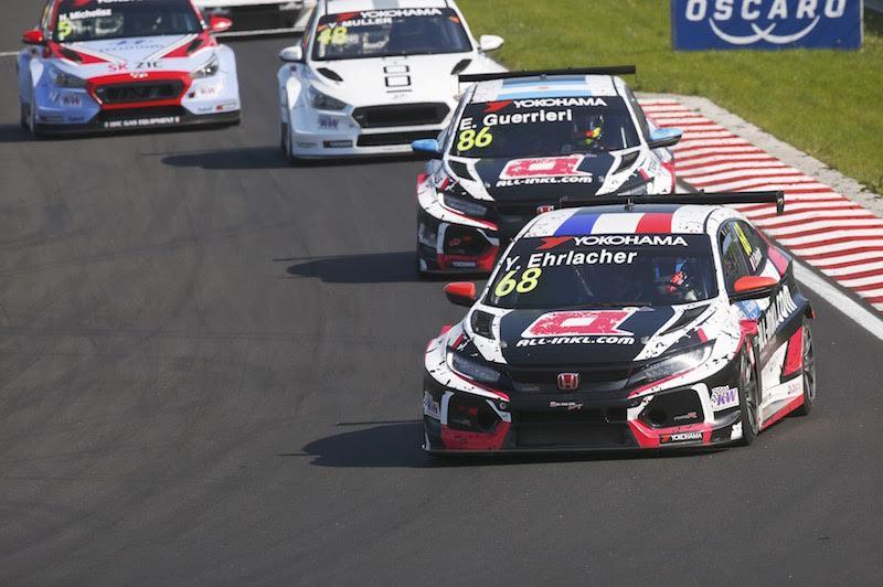 WTCR | Hungaroring: Ehrlacher guida la doppietta Münnich in gara-1