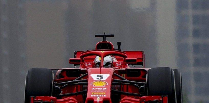 "<span class=""entry-title-primary"">F1 | GP Cina, FP3: doppietta Ferrari, Vettel davanti a Raikkonen</span> <span class=""entry-subtitle"">Freddo e vento a Shanghai. Bottas 3°, Hamilton 5°, Ricciardo in fumo</span>"