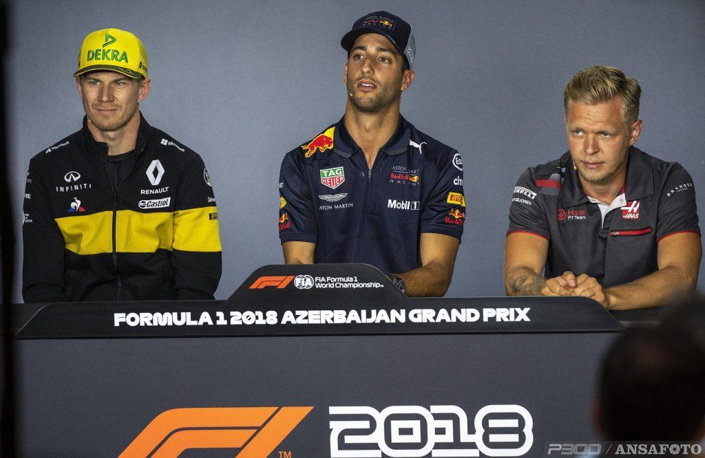 F1 | Le dichiarazioni di Hulkenberg e Magnussen nel giovedì di Baku
