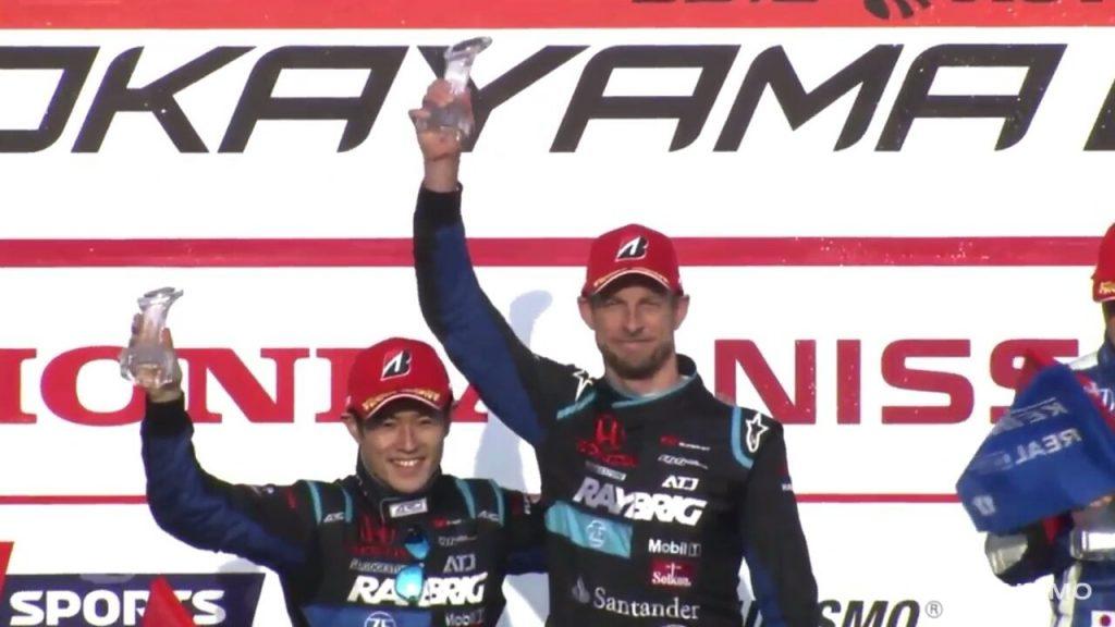 Button sul podio nella prima gara del SuperGT giapponese