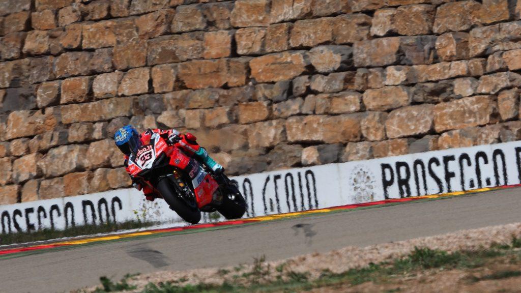 SBK | GP Aragona: Melandri in pole position al Motorland
