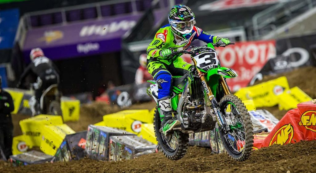 Supercross | Settima vittoria per Tomac a Minneapolis