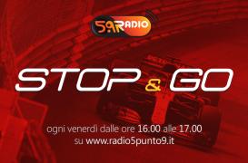 """""""Stop&Go"""" live venerdì 25 maggio alle ore 16.00 su Radio 5.9"""