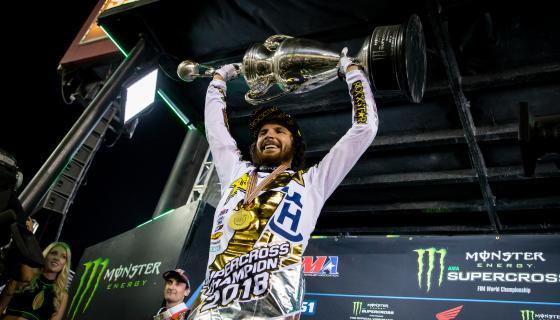 Supercross | Jason Anderson vince il titolo 2018!