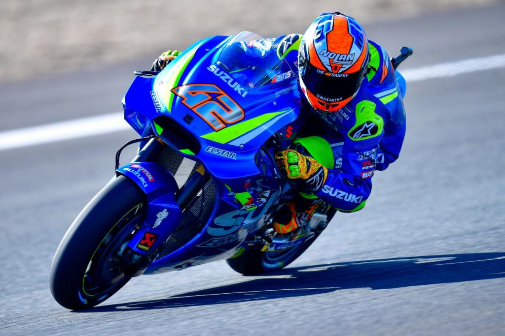 MotoGP | Álex Rins correrà con Suzuki fino al 2021