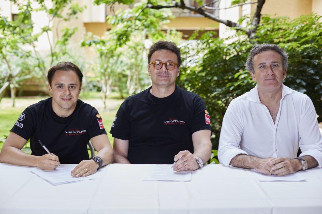 Formula E | Felipe Massa correrà per Venturi nella prossima stagione