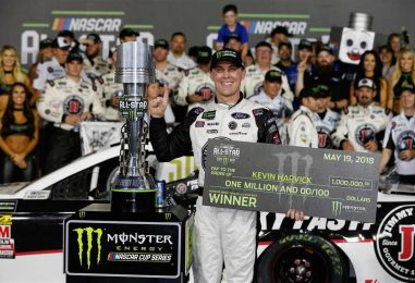 NASCAR   Harvick vince anche la All-Star Race!