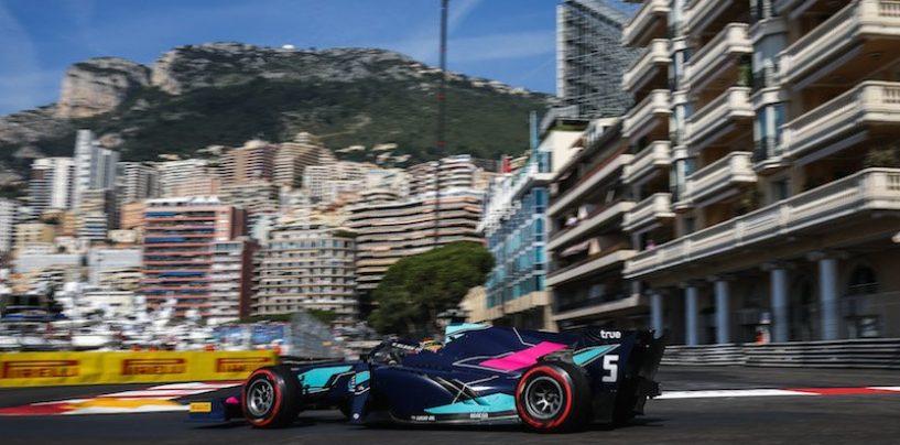 "<span class=""entry-title-primary"">F2 | GP Monaco: terza pole consecutiva per Alexander Albon</span> <span class=""entry-subtitle"">De Vries beffato per un centesimo. Norris 17° dopo un incidente</span>"