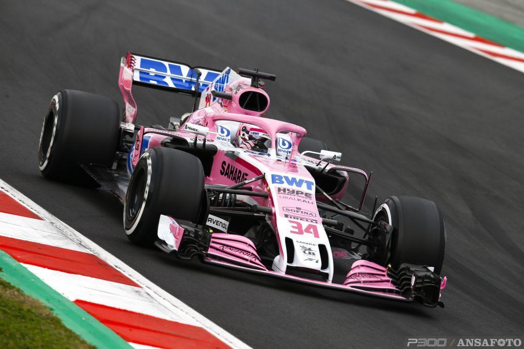 F1 | Force India con Latifi, Mazepin e Russell ai test di Barcellona