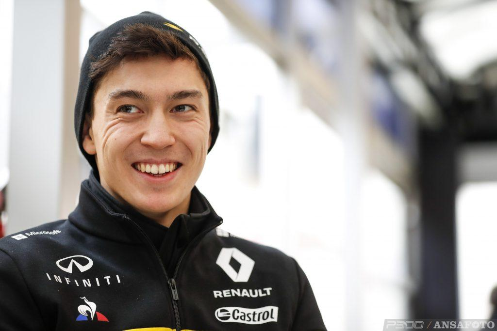 F1 | Jack Aitken al volante della Renault nei test di Barcellona