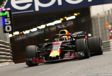 F1   GP Monaco, FP2: ancora Daniel e Max in testa