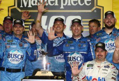 NASCAR   Harvick firma la cinquina in Kansas