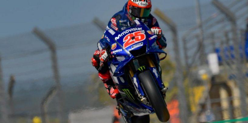 "<span class=""entry-title-primary"">MotoGP | GP Francia, sintesi prove libere</span> <span class=""entry-subtitle"">Le Yamaha tornano davanti con Viñales nella FP3, Márquez e Dovizioso si alternano al venerdì</span>"