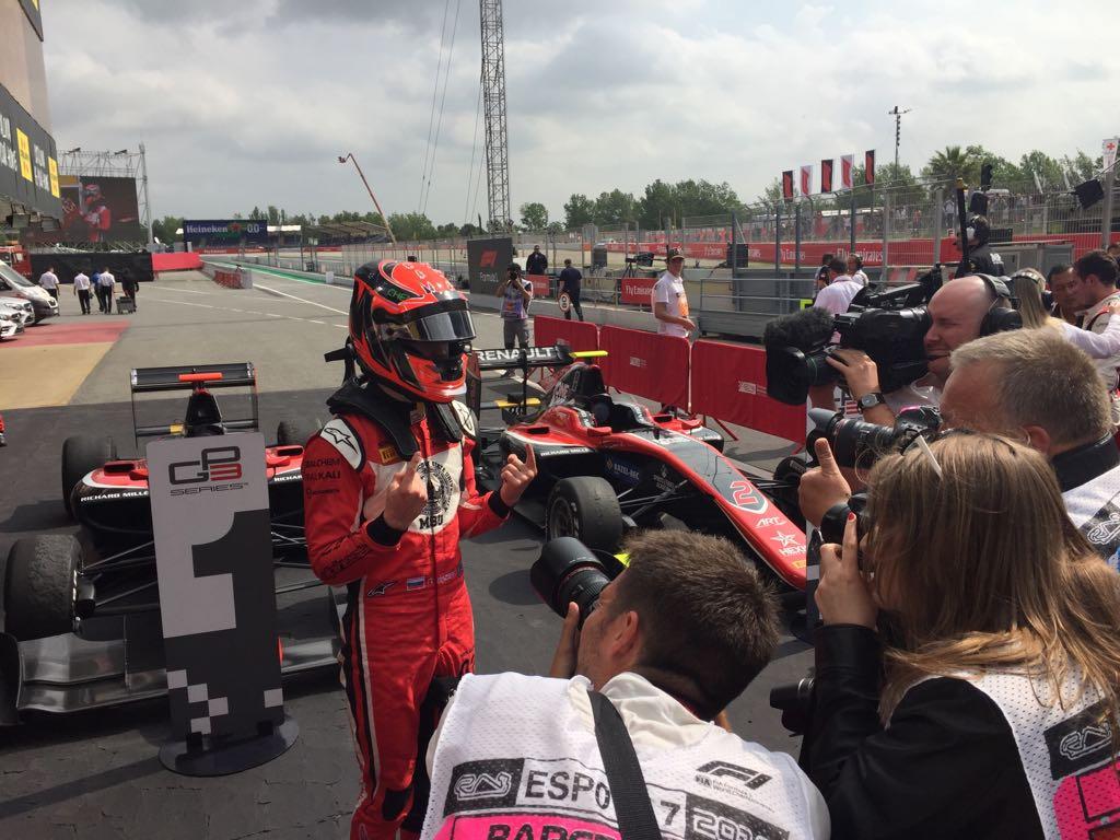 GP3 | GP Spagna: Mazepin vince Gara 1, tripletta ART