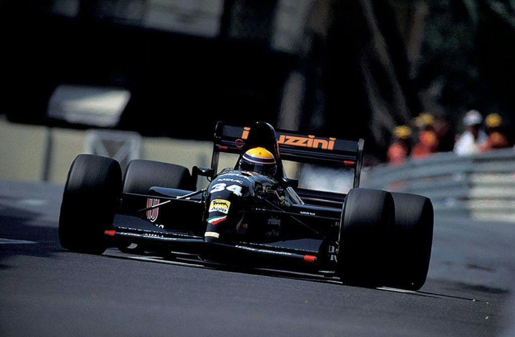 Quando l'Andrea Moda prese il via a Monaco 1992