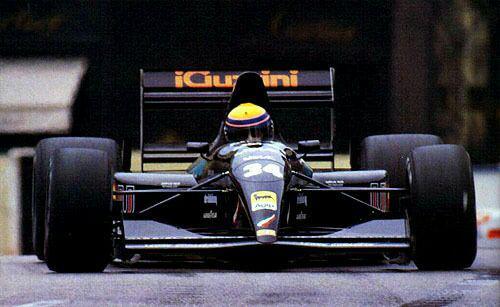 Quando l'Andrea Moda prese il via a Monaco 1992 2