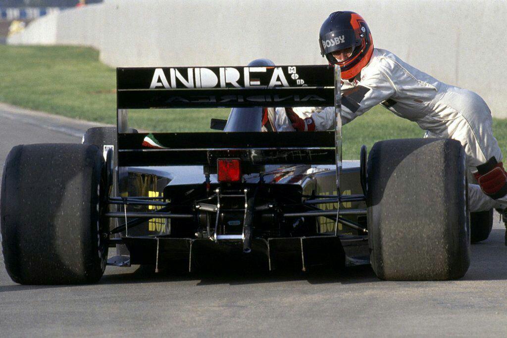 Quando l'Andrea Moda prese il via a Monaco 1992 1