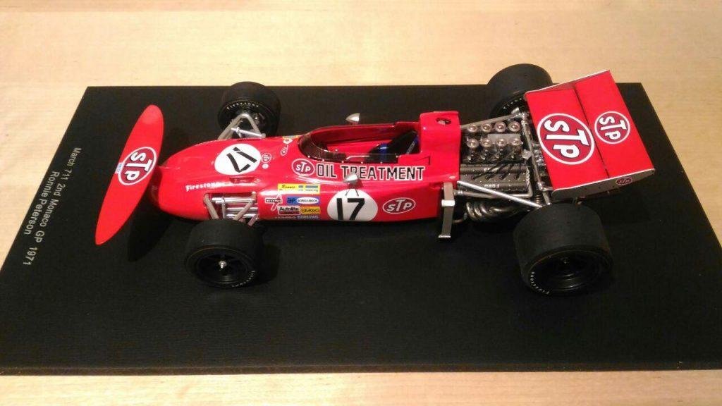 Monaco 1971: il secondo posto di Ronnie con il vassoio da the 2