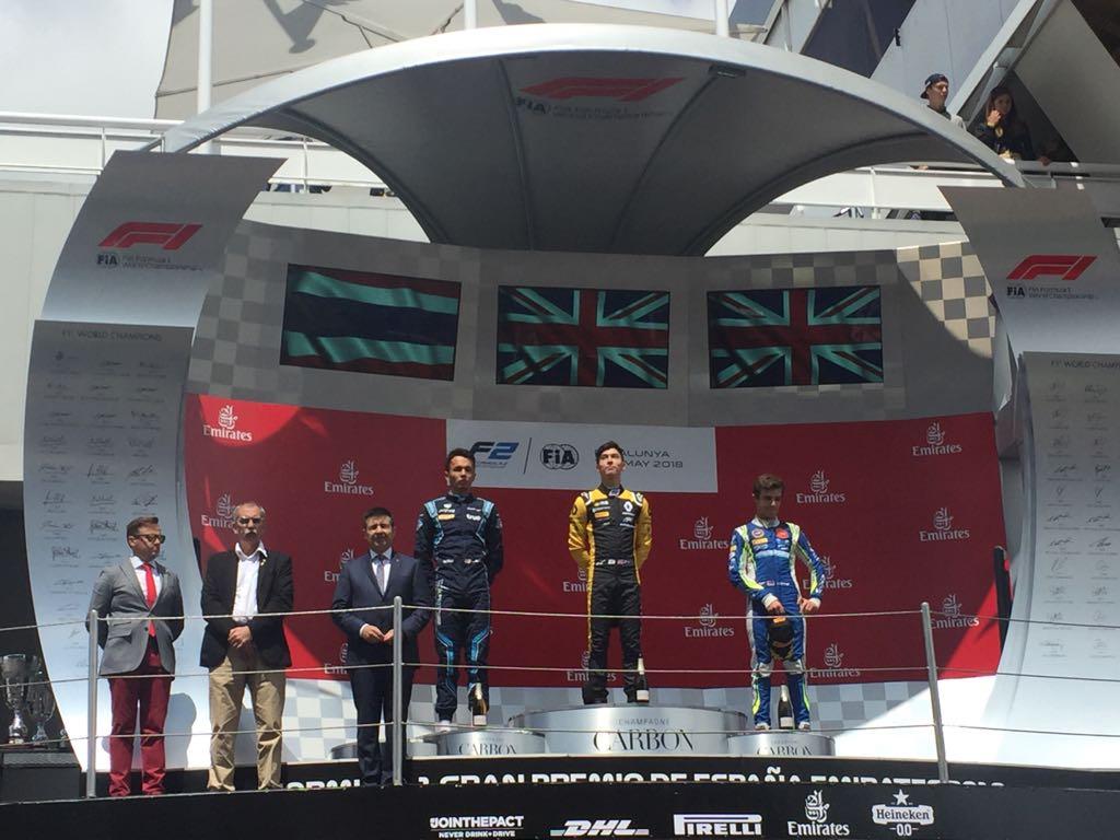 F2 | GP Spagna: Aitken completa la doppietta ART