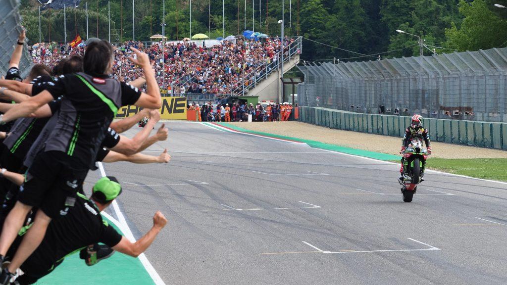 SBK | GP Italia: duello Davies-Rea, è il campione del mondo a spuntarla