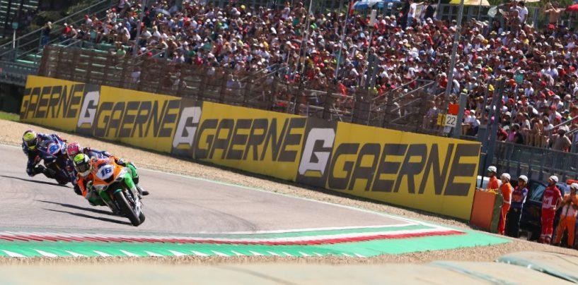"""<span class=""""entry-title-primary"""">GP Italia: i risultati di SSP600, SSP300 e STK1000</span> <span class=""""entry-subtitle"""">Sofuoglu compie il suo giro d'onore e si ritira tra gli applausi di Imola. Cluzel vince ancora in SSP600</span>"""